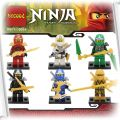 figurki klocki Ninjago 6 szt