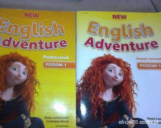 New English Adwenture podr i ćwicz nowe