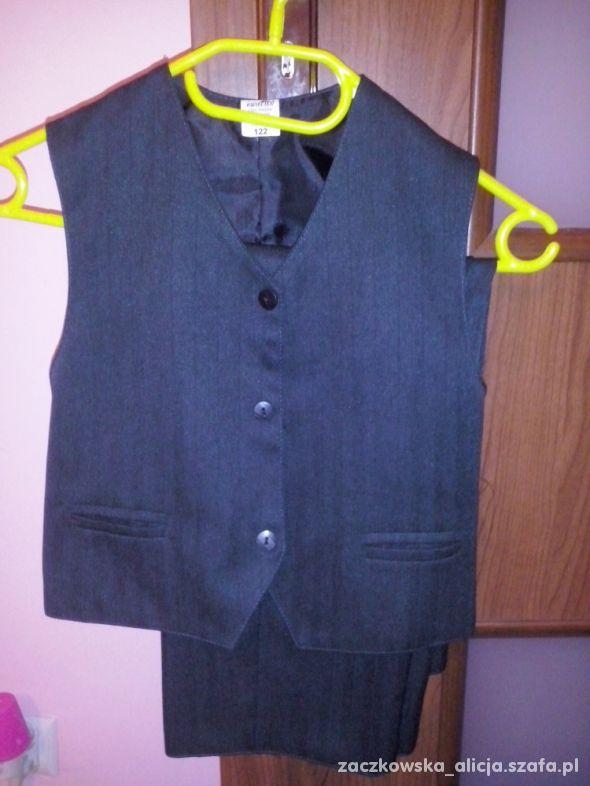 Spodnie kamizelka koszula 122 128