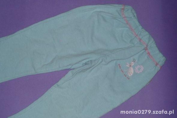 Spodnie dresowe 92 98