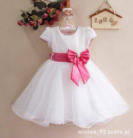 d3ded2432a Dwie piękne sukienki wizytowe rozmiar 104 w Sukienki i spódniczki ...