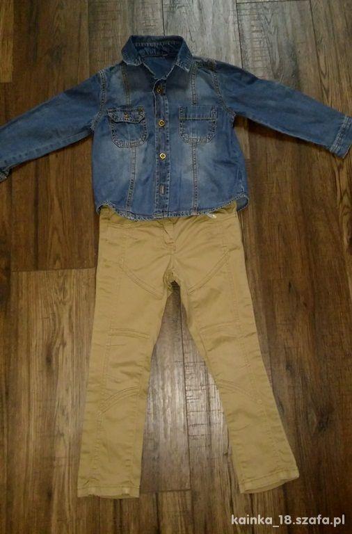 koszula i spodnie 98 104