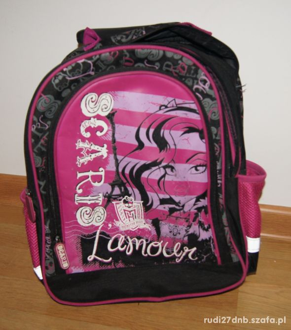 Plecak plecaczek Monster High