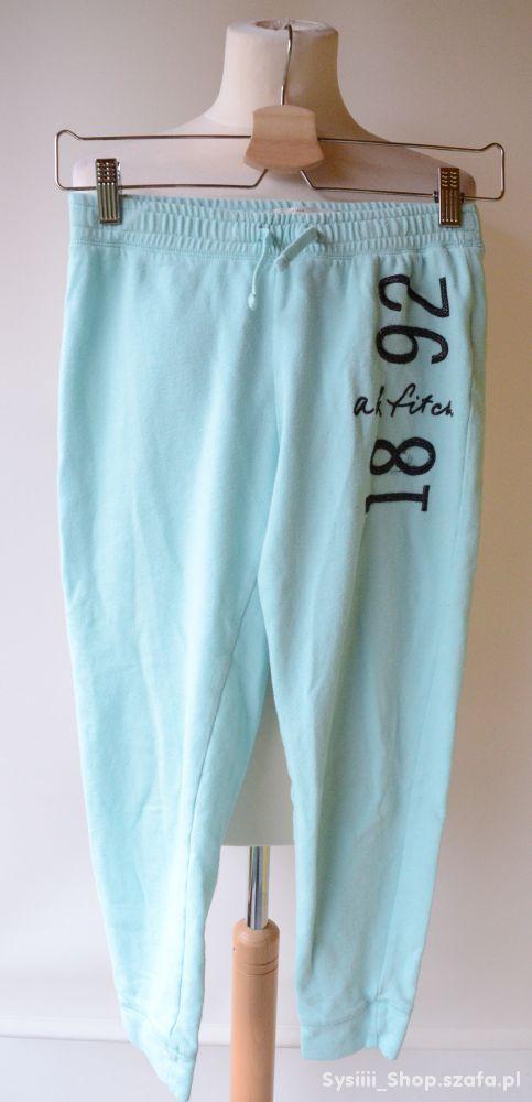 Spodnie Miętowe M 12 Abercrombie&Fitch 146 cm