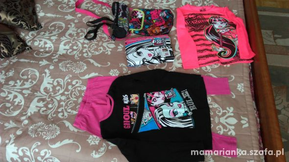 Zestaw Monster High 7 lat