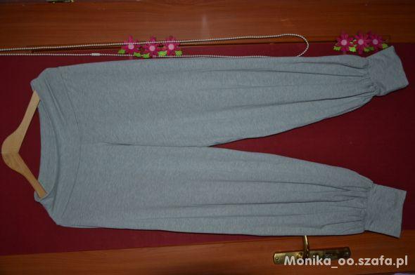Spodnie ciążowe alladynki szare cubus