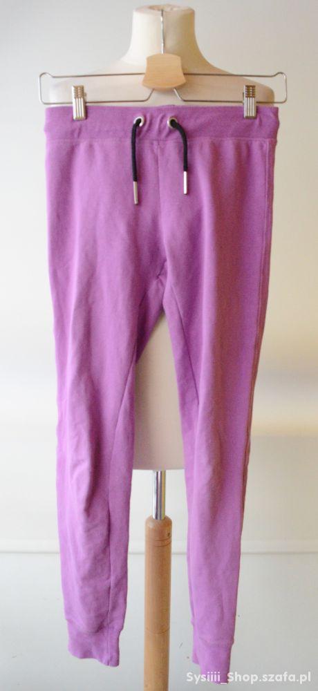 Dresy Spodnie Fiolet 152 cm 12 lat Cubus Dresowe