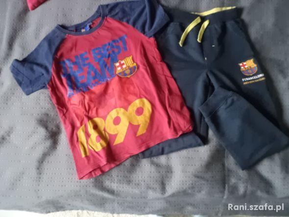 spodnie i bluzka FC Barcelona