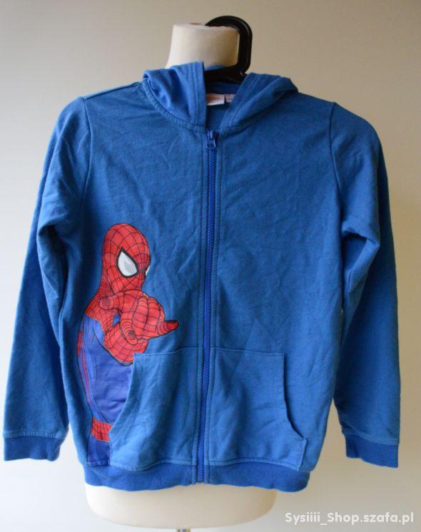 Bluza Niebieska Spiderman 134 140 cm 8 10 lat Dres