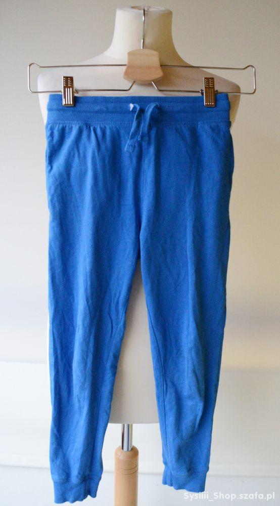 Dresy Spodnie Dresowe H&M Niebieskie 128 cm 7 8 la