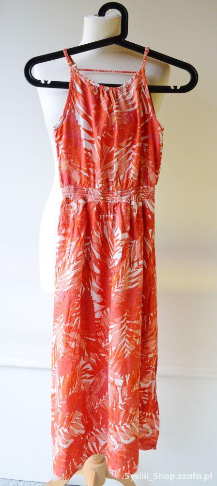 81a00de1 Sukienka Long Wzory HM 146 cm 10 11 lat Wzorki w Sukienki i ...