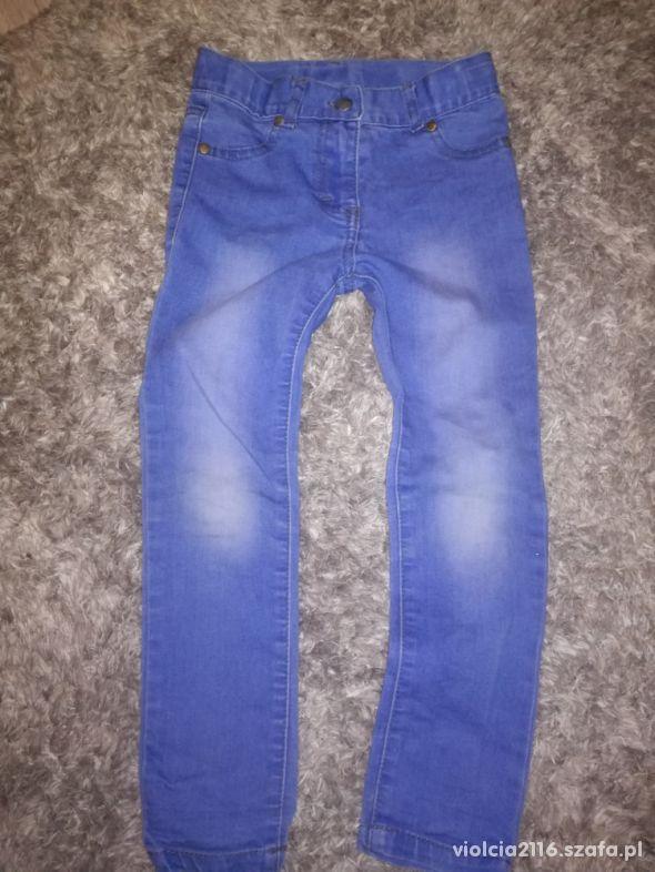 Spodnie jeans 116