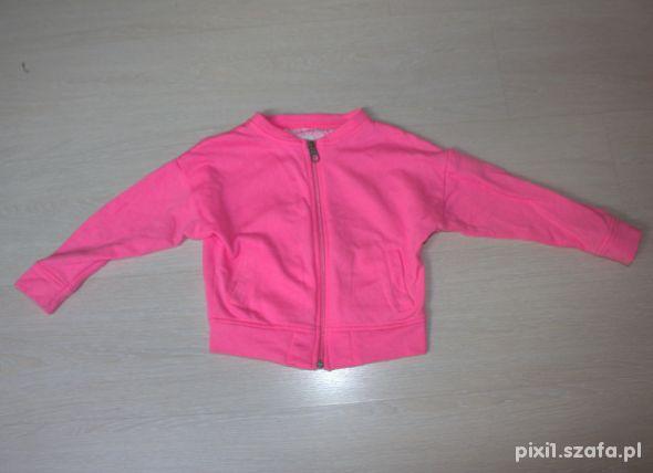 H&M neonowa bluza 98 104
