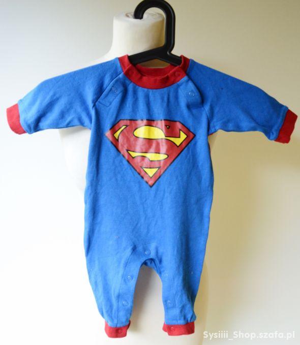 Body Niebieskie Superman H&M 62 cm 3 m