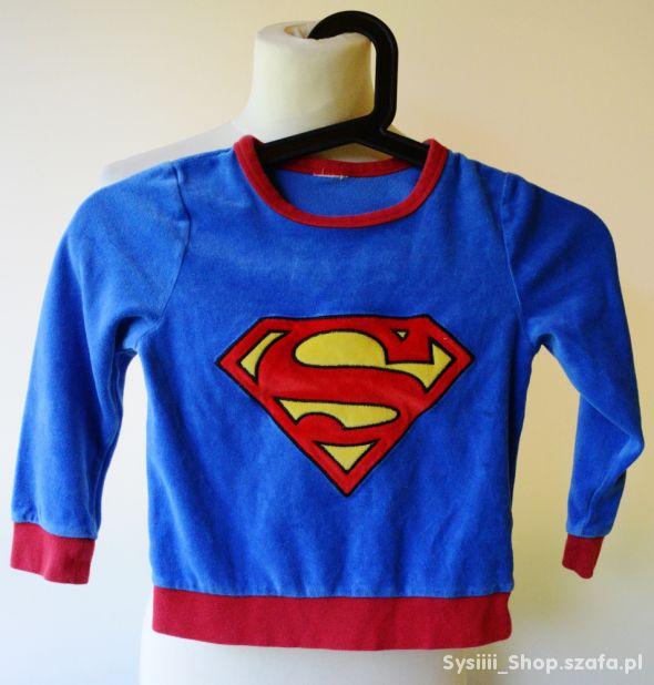 Bluza Superman Niebieska 104 cm 3 4 lata