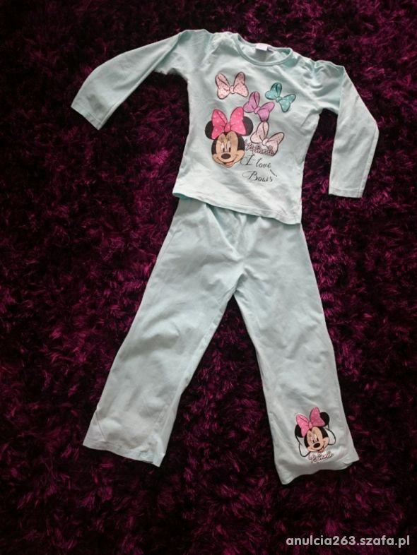 Piżamka Minnie rozmiar 122