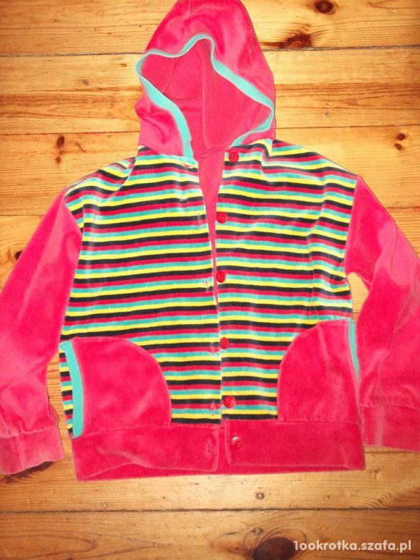 Bluza z kapturem dla dziewczynki rozmiar 116