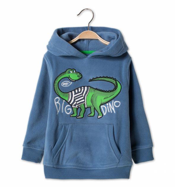 Bluza z dinozaurem jak nowa