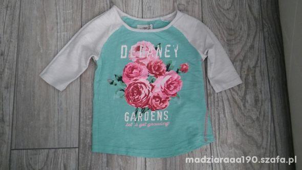 Bluzeczka 3 4rekaw H&M rozm 92