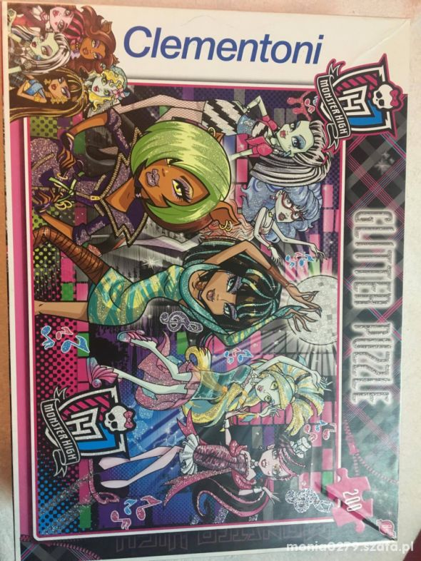 Puzzle Monster High 200 elementów