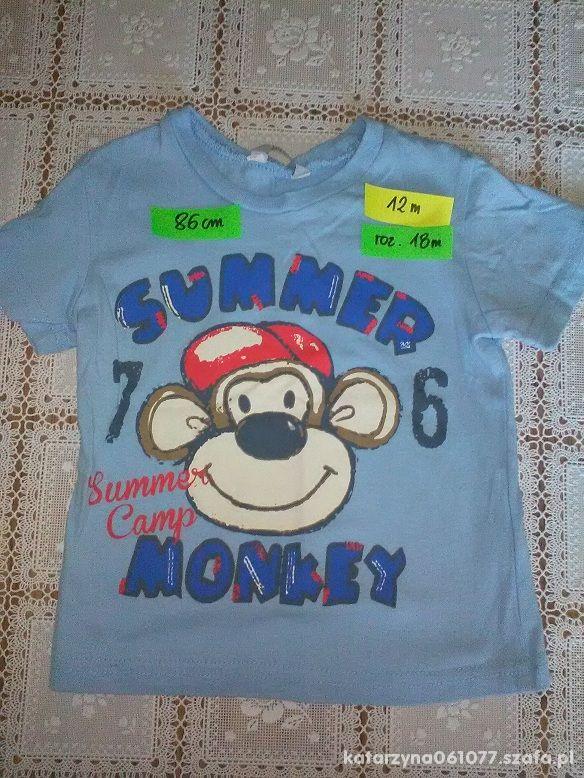 koszulka 86 12 18m