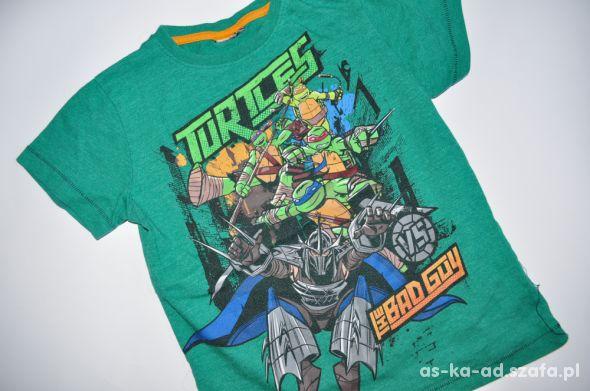 żółwie ninja bluzka koszulka tshirt 110 116 cm