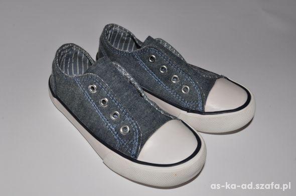 Trampki tenisówki MATALAN jeansowe 24