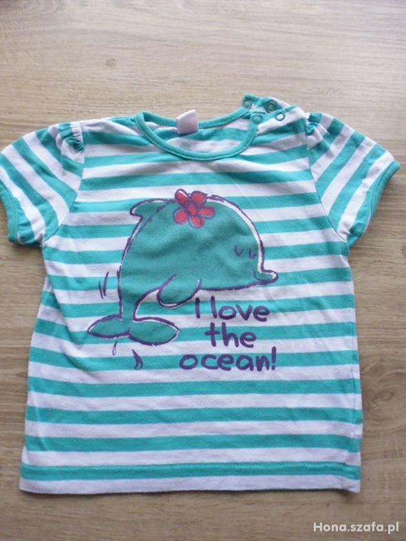 Koszulka z delfinkiem