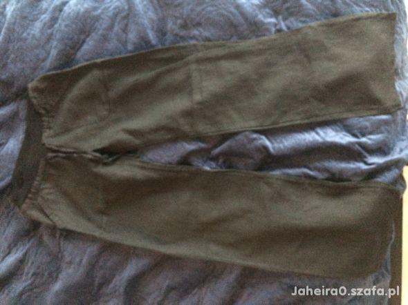Spodnie ciążowe lniane rozm S