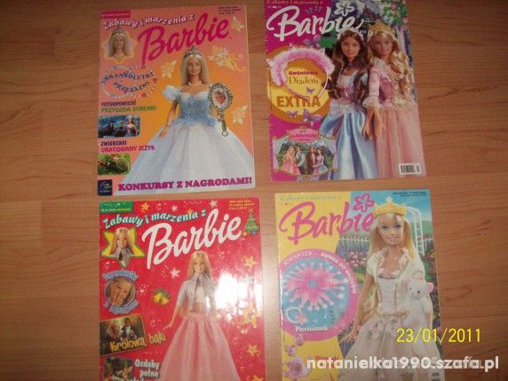 GAZETKI BARBIE Z LAT 1998 do 2000