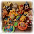 używany zestaw zabawek dla dziecka