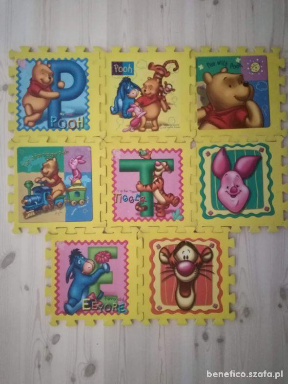 puzzle piankowe 8 elementów