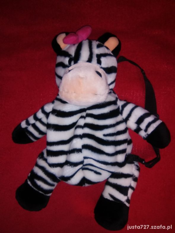 Plecaczek zebra