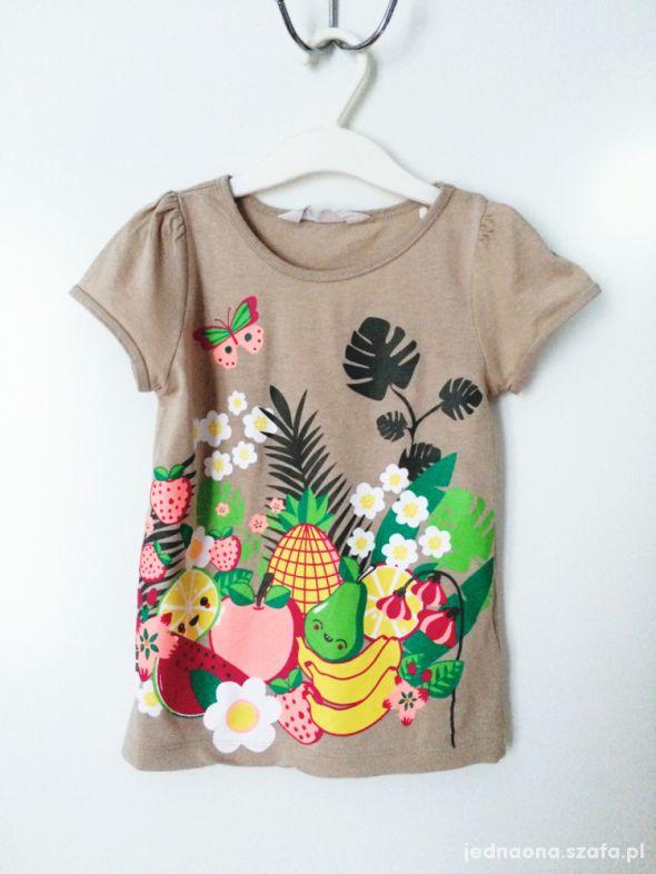 tshirt w owoce 110 116