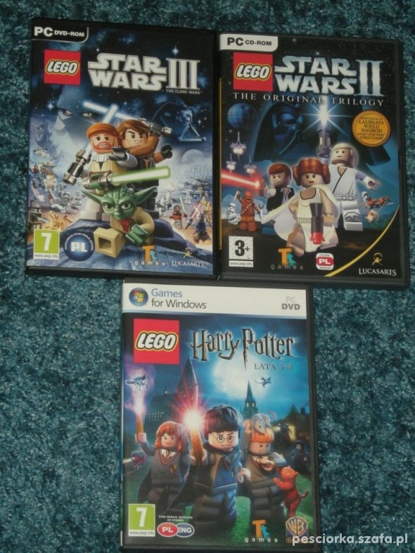 Gry PC Lego Harry Potter Star Wars