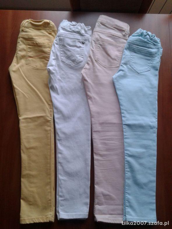 spodnie 4 sztuki