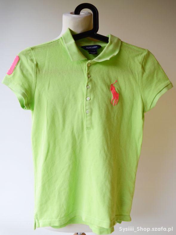 T Shirt Bluzka Ralph Lauren Limonkowa 12 14 lat 15