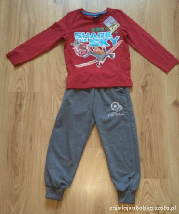 Nowy dres chłopięcy komplet spodnie dresowe samol