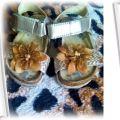 Złote sandałki rozmiar21