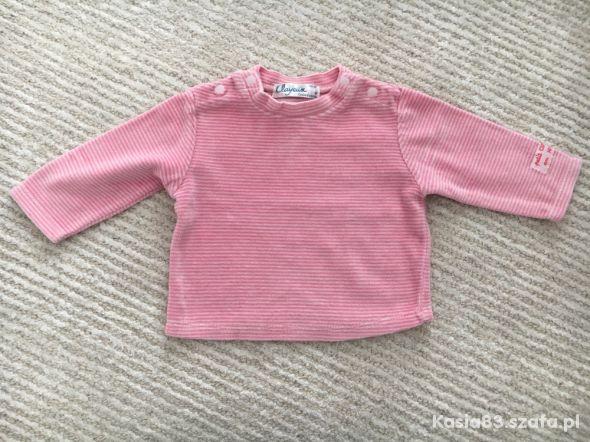 Bluza welurowa rozmiar 68