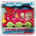 Lokomotywa pociąg zabawka muzyczna edukacyjna sort