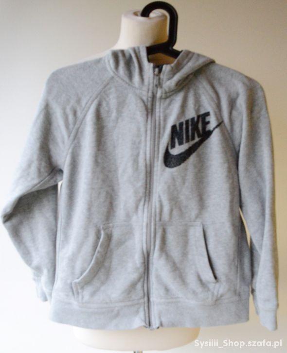 Bluza Szara Kaptur Nike 146 152 cm 10 12 lat Kangu