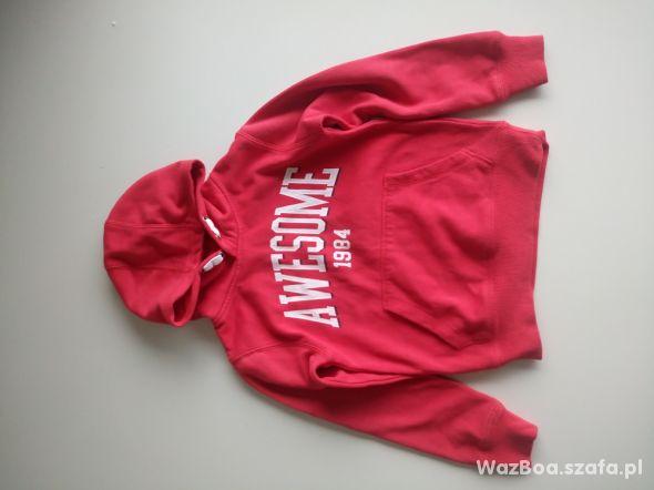 Czerwona bluza kangurka CUBUS 122 128