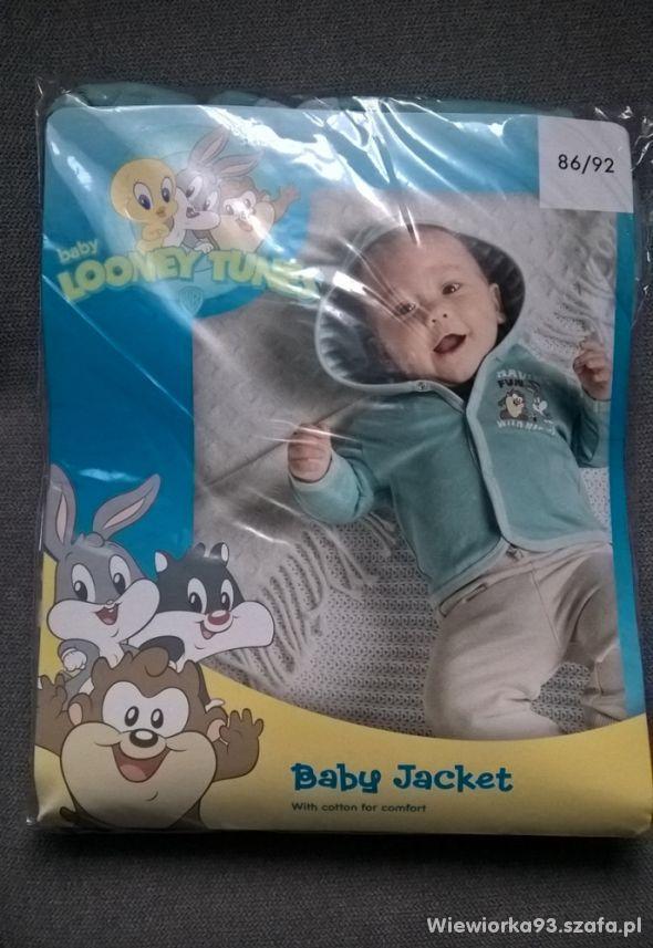 Bluza niemowlęca Looney Tunes 86 92 nowa z metką