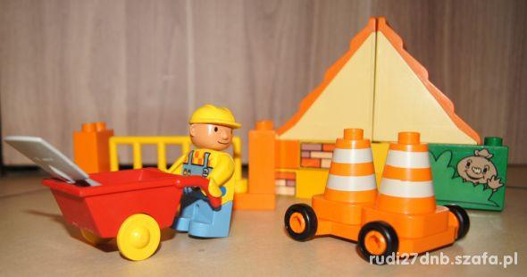 Lego Duplo Bob Budowniczy klocki zestaw
