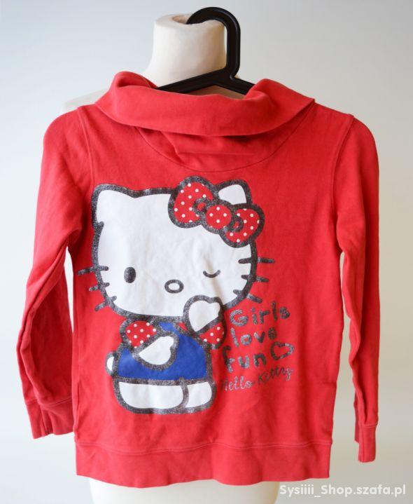 Bluza Czerwona Hello Kitty 134 140 cm 8 10 lat