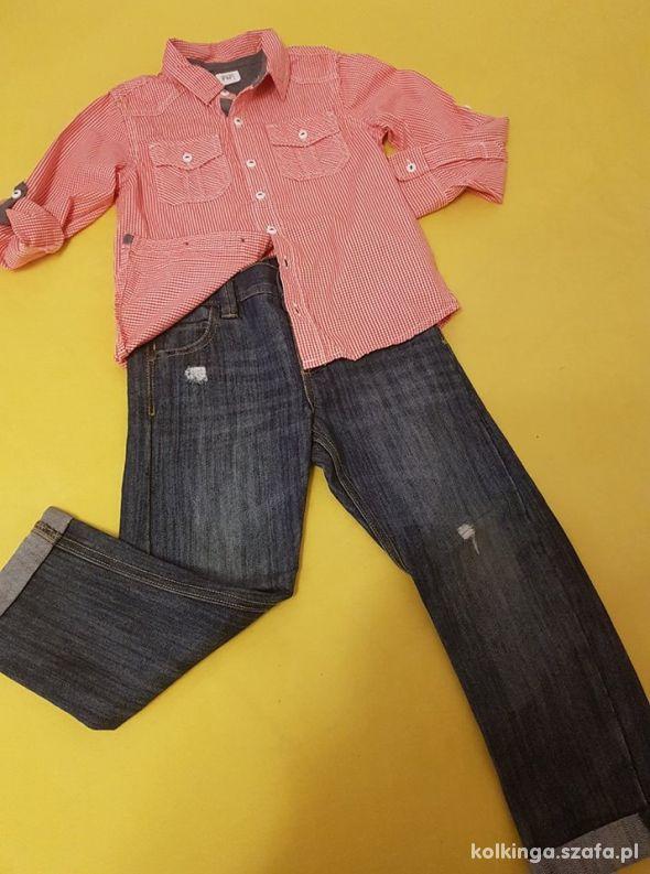 Koszula i spodnie komplet