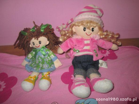 Dwie lalki szmacianki przytulanki