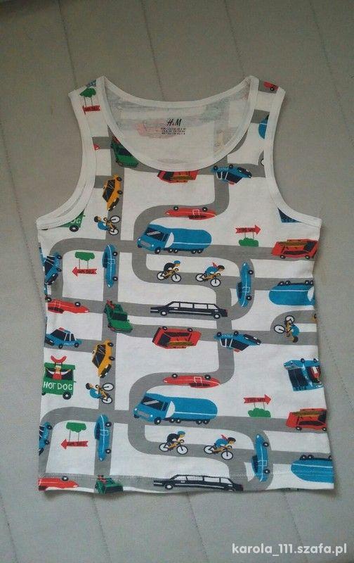 Koszulka w samochody