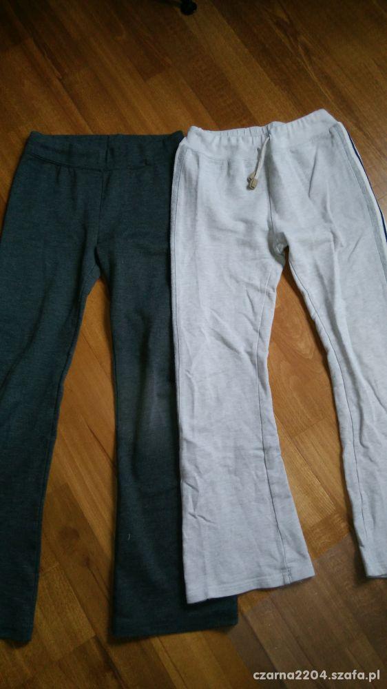 Dwie pary spodni dresowych